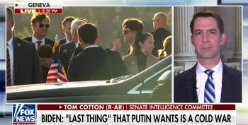 'Tehran Tom' Cotton Wants Biden To Declare War On Russia