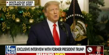 Hannity Cuts Off Trump's Bizarre 'Windmills' Rant