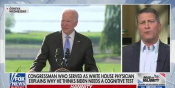 Ronny Jackson Calls For Biden Cognitive Test: 'Person Man Woman Camera TV?'