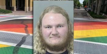 Vandal Who Did Burnout Over Pride Mural Now Under Arrest