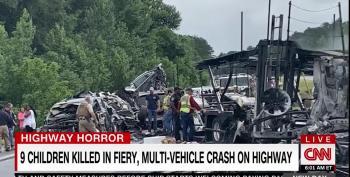 10 Dead, Including Nine Children, In Multi-Vehicle Alabama Pileup