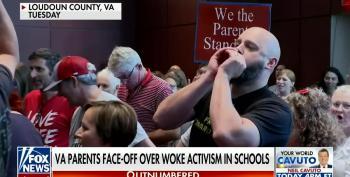 VA School Board Meeting Turns Riotous