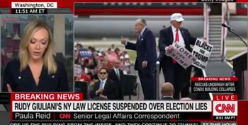 New York Suspends Rudy's Law License
