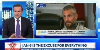 Newsmax Hypocrite Attacks Beaten DC Officer Michael Fanone