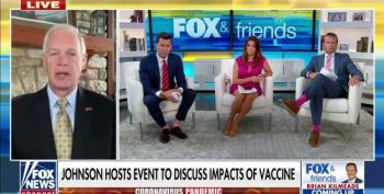 Fox News Gives Ron Johnson Airtime To Promote His Anti-Vaxxer Event