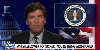 Tucker Carlson Claims Biden Is Spying On Him