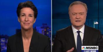 Rachel Maddow Doesn't Hold Back On 'Scummy' Trump Rally