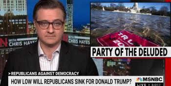 Chris Hayes Shreds Republicans For Trying To Appease Trump