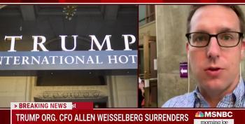 Allen Weisselberg Surrenders To Manhattan DA This Morning