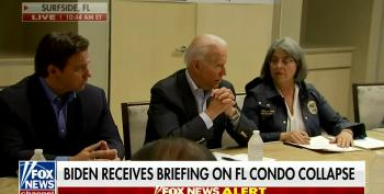 Biden Shows Real Leadership At Site Of Building Collapse
