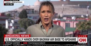 U.S. Turns Over Bagram Air Base To Afghanistan