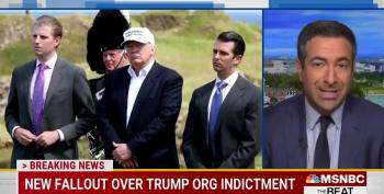 Don Jr Posts A 13-Minute Video Confirming Daddy's A Crook
