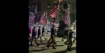 Spectators Chase White Supremacists Out Of Philly