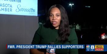Local NBC Affiliate Reports On Trump's 'Loser Palooza' In Sarasota