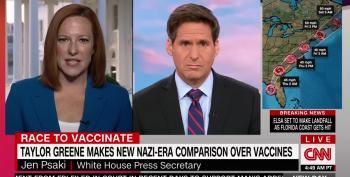 Jen Psaki Responds To Anti-Vaxer Congresswoman
