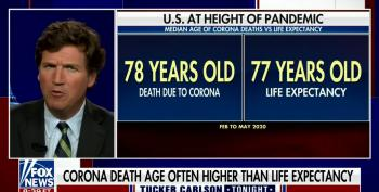Tucker On Covid: Seniors Would Be Dead By Now Anyway