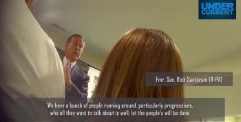 Santorum Urges Republicans To Thank Sinema And Manchin