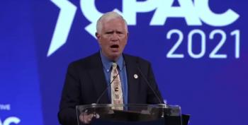Seditionist Unironically Tells CPAC Attendees To 'Fight For America'