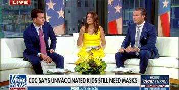Fox Attacks CDC Guidance For Masks In Schools