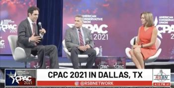 Falling Short Of  COVID Vaccine Goals Applause Line At CPAC