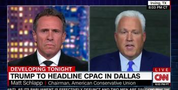 Matt Schlapp Promotes The Same Election Fraud Lies On CNN
