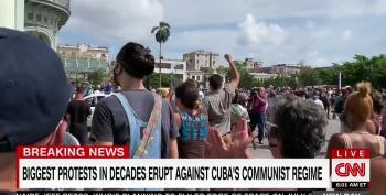 Protests Over Food, Medicine Shortages Erupt In Cuba
