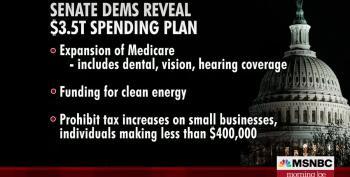 Senate Dems Agree To Push Historic $3.5 Trillion Reconciliation Bill