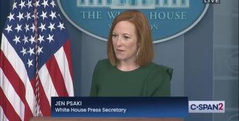 Psaki Welcomes Doocy Back With Signature Clapback