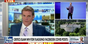 Fox Flips Out Over White House Push To Quell COVID Disinfo