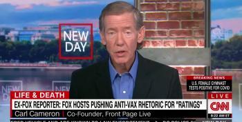 Former Fox News Journo Attacks Their Anti-Vax Propaganda