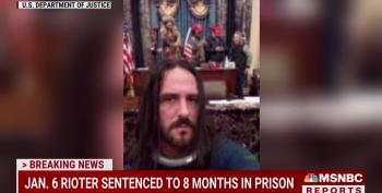 BREAKING: Capitol Rioter Sentenced To Eight Months In Prison