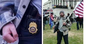 CHARGED: DEA Agent Photographed With Badge, Gun Displayed During Capitol Riots