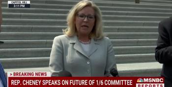 Liz Cheney Slaps Kevin McCarthy