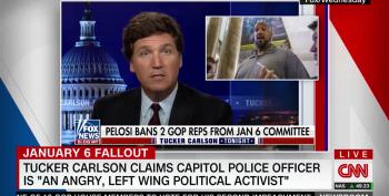 Tucker Carlson Takes Racist Swipe At Capitol Police Officer