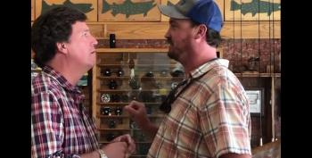 Man Confronts Tucker Carlson In A Montana Store: 'You Are The Worst Human Being'