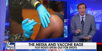 Howard Kurtz Whines About Criticism Of Fox's Anti-Vax Coverage