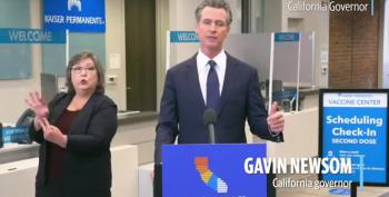 Gavin Newsom Speaks For Us: Exhausted By Anti-Vax Disinfo