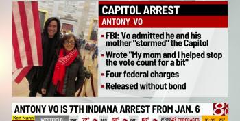 Rioter Who Stormed The Capitol With His Mom Now Arrested