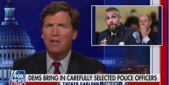 Snide Tucker Laughs At Officer Fanone's Testimony