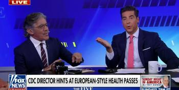 Geraldo Slams The Five And Anti-vaxers