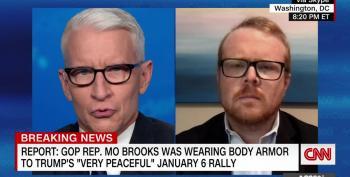 GOP Rep. Brooks Wore Body Armor During Speech On January 6