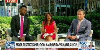 Fox Host Attacks The CDC For Having 'Control Mindset' Following Mask Recommendation