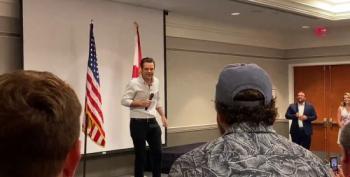 Matt Gaetz Jokes About COVID During 'Florida Man Freedom Tour' Kickoff