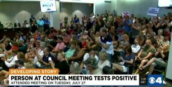 St. Louis City Resident Tests Positive For COVID Following Council Meeting On Mask Mandate