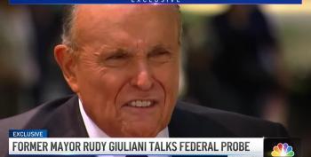 Giuliani Bashes FBI Probe Against Him