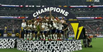 USA Hoists Gold Cup In Victory