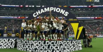 USA Men's Soccer Team, FTW!