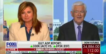 Newt Gingrich Promotes White Supremacist 'Replacement Theory'