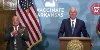 Arkansas Governor Says He Regrets Signing Ban On Mask Mandate
