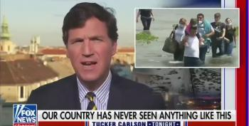 Carlson Calls Immigrants 'Filth' While Broadcasting From Hungary